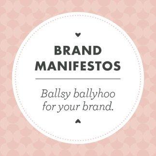 Brand Manifestos Graphic Panel