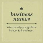 By Jingo Copywriting Business Name Graphic Panel