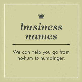 By Jingo Copywriting Business Name Graphic Panel
