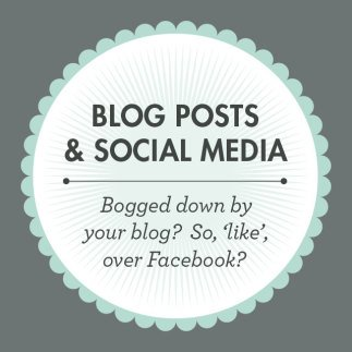 Blog Posts and Social Media Graphic Panel